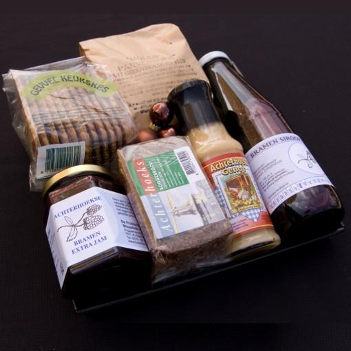 Achterhoekse producten in een kerstpakket